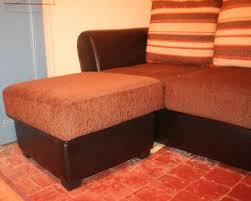 canapé d angle orange canapé d angle avec pouf convertible