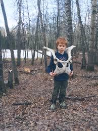 Halloween Costume Bone Armor