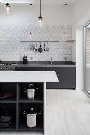 Gray Kitchen Galley Normabudden Com Kitchen Scandinavian Kitchen With Luxury Long Table And Brown