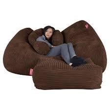 huge bean bag sofa from 199 giant beanbag u2013 big bertha original com