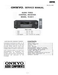 service manual for onkyo tx 8511 download