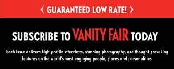 Vanity Fair Magazine Customer Service Vanity Fair Magazine Canadian Subscription