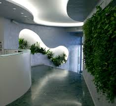 verde profilo vertical garden biesse private office