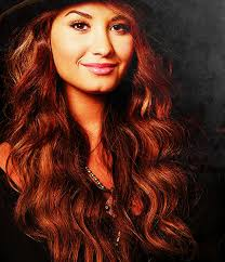 demi lovato dip dyed hair color ideas popular long hairstyle idea