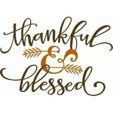 silhouette design store view design 98592 thankful blessed