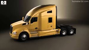 a model kenworth kenworth t680 tractor truck 3axle 2012 by 3d model store humster3d