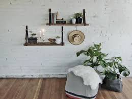white floating shelves lowes living room marvelous wall attached shelves floating shelves