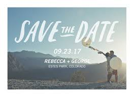 save the date designs when to send save the dates wording etiquette guide