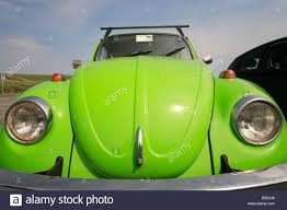 volkswagen beetle green old green beetle vw volkswagen german car stock photo royalty