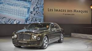 bentley mulsanne 2014 bentley mulsanne speed debuts with 530 bhp
