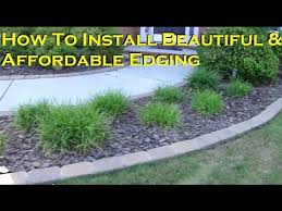 how to install a beautiful and affordable paving stone edging