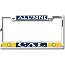 uc berkeley alumni license plate of california berkeley alumni license plate frame