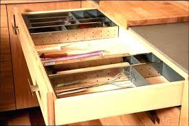 tiroirs de cuisine eclairage tiroir cuisine amenagement de tiroir cuisine amacnagement