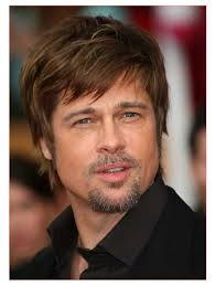 haircut for square face men also brad pitt fringe hair u2013 all in