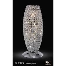 crystal table lamps 74 trendy interior or crystal table lamps