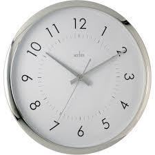 silent wall clocks yoko silent sweeping wall clock 32cm