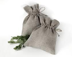 linen favor bags 10 pcs small size favor bags white linen sachets fabric