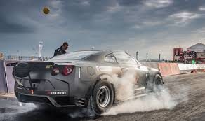 Nissan Gtr Truck - world u0027s worst truck burn out will wreck your muscle pickup and