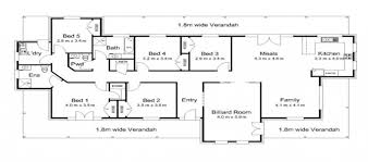 5 Bedroom House Plan by Modern House Plans Australia