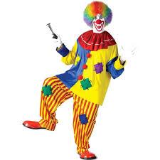 amazon com fun world men u0027s big top clown costume clothing