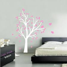 Nursery Stickers Large Tree And Birds Vinyl Wall Decal Stickers For Baby Nursery