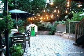 Led Outdoor Patio String Lights Outdoor Patio String Lights Globe Led Ideas Lighting Clear