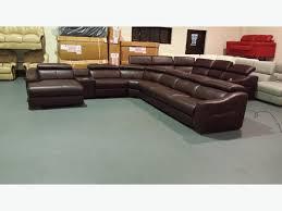Large Corner Sofa Large Brown Leather Corner Sofa Revistapacheco Com