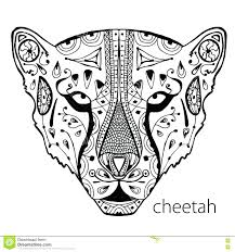 cute baby cheetah coloring pages running free download rabbit