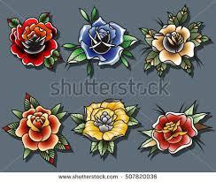 rose tattoo vector download free vector art stock graphics u0026 images