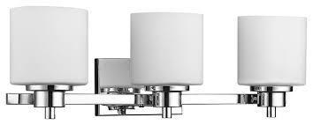 Solbi Light Bath Vanity Chrome Finish Transitional Bathroom - Bathroom lighting fixtures chrome