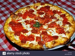 cuisine az pizza pepperoni pizza pan at s restaurant town scottsdale az
