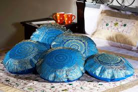 Chocolate Cushion Covers Buy Online Cushion Covers Multi Coloured Kantha Cushion Cover