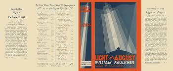 faulkner light in august light in august william faulkner