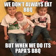 Bbq Meme - papaws bbq catering home facebook