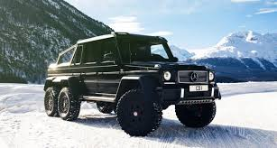 mercedes 6 x 6 mercedes g63 amg 6x6 when much is not enough