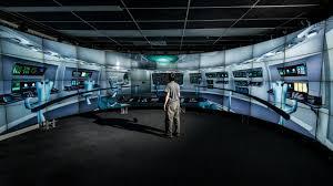 simulation room evl electronic visualization laboratory