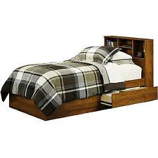 Twin Bed With Storage And Bookcase Headboard by Twin Storage Bed Ebay