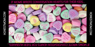 s day heart candy if wrote candy conversation hearts huffpost