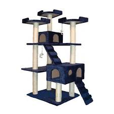 go pet club cat tree f2040 beige 72 in walmart