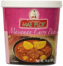 amazon com mae ploy thai matsaman massaman curry paste 14 oz