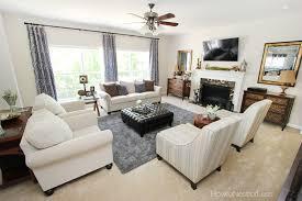 Milari Linen Chair Family Room Reveal How To Nest For Less