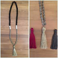 beaded tassel necklace images The tutorial of beaded tassel necklace jewelry pinn jpg