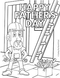 construction tools coloring pages happy fathers day construction theme coloring pages printable