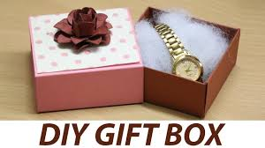 diy gift box ideas how to make small gift box at home with diy