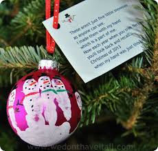 2013 snowman handprint poem print snowman ornament