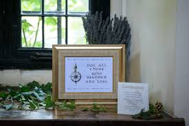 wedding quotes lord of the rings wed in middle earth a lord of the rings inspired wedding day