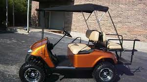 custom lifted convertible ezgo golf cart youtube