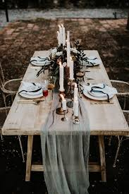 fabric for table runners wedding 32 winter wedding table runners in different styles weddingomania