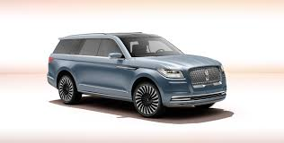 supercar suv the new lincoln navigator concept is a crazy suv with supercar