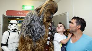 star wars magic for children in hospital newcastle herald